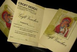 Croft Design Gift Vouchers